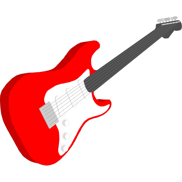 Unplugged Guitar PNG Clip art