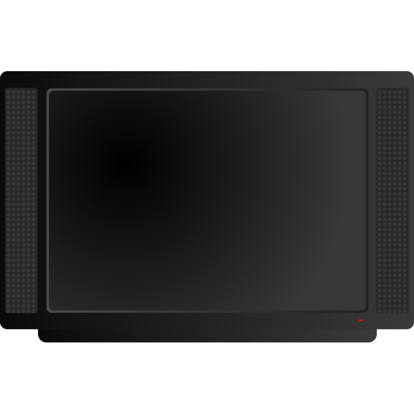 Lcd Hidef Television PNG Clip art