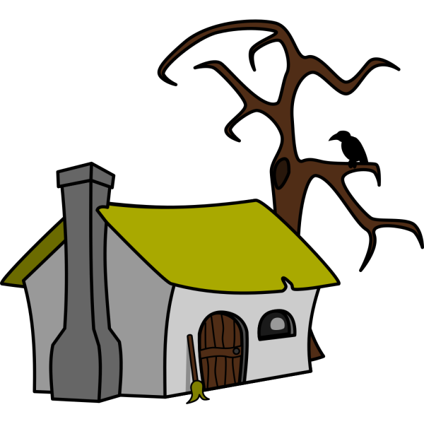 Witch Cottage PNG images