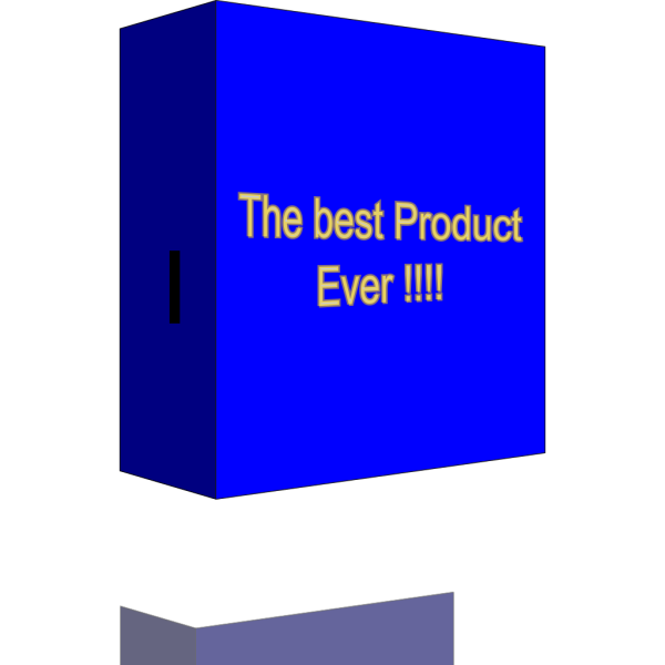 Product Box PNG Clip art