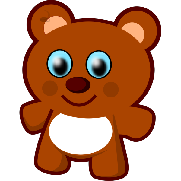 Little Bear Toy PNG Clip art