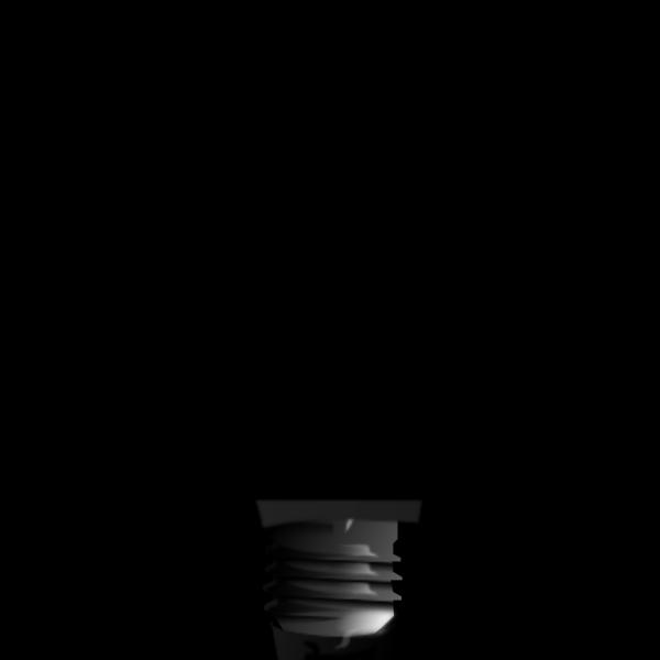 Simple Light Bulb PNG Clip art