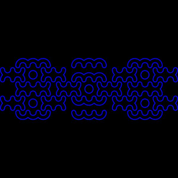 Blue Decoration PNG Clip art