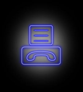 Fax Icon 2 PNG Clip art
