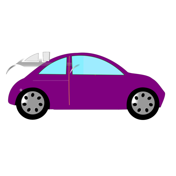 Purple Cartoon Snail PNG Clip art
