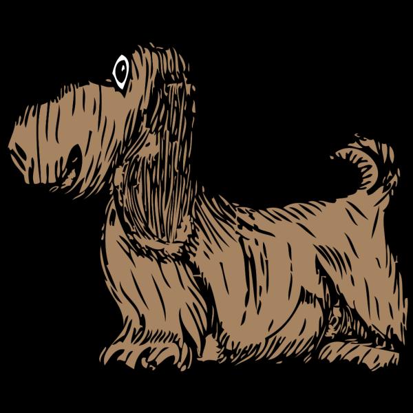 Brown Basset Hound Art PNG Clip art