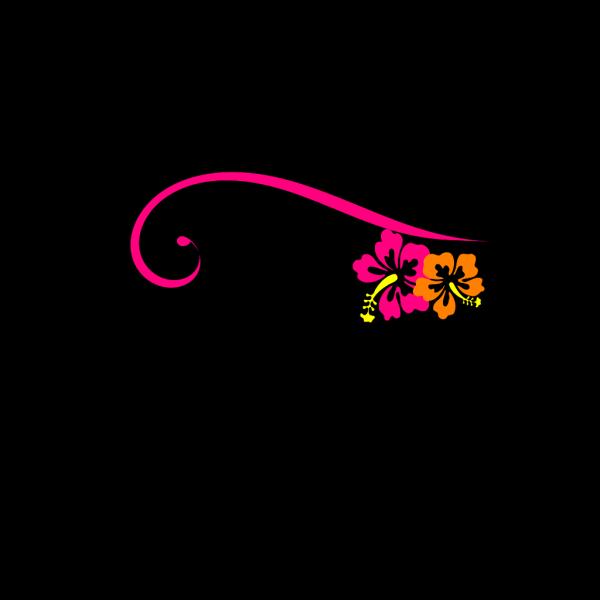 Decorative Swirl With Bird PNG Clip art