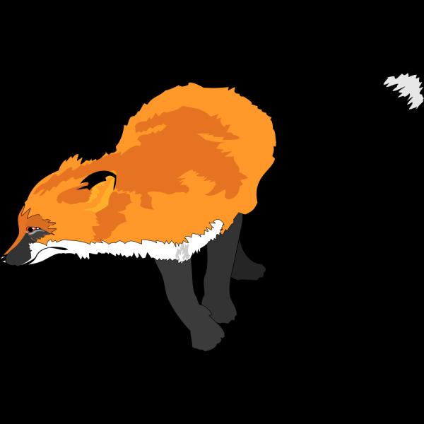 Fox Running PNG Clip art