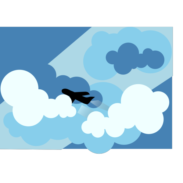 Flying Plane PNG Clip art