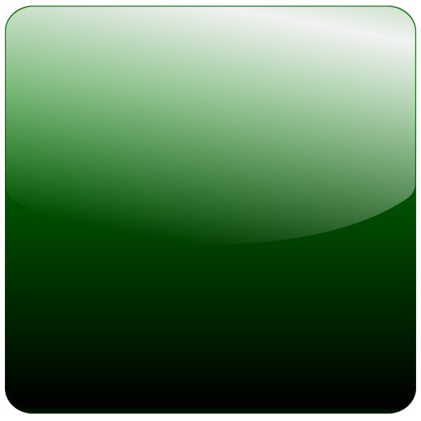 Green Square Icon Gradient PNG Clip art
