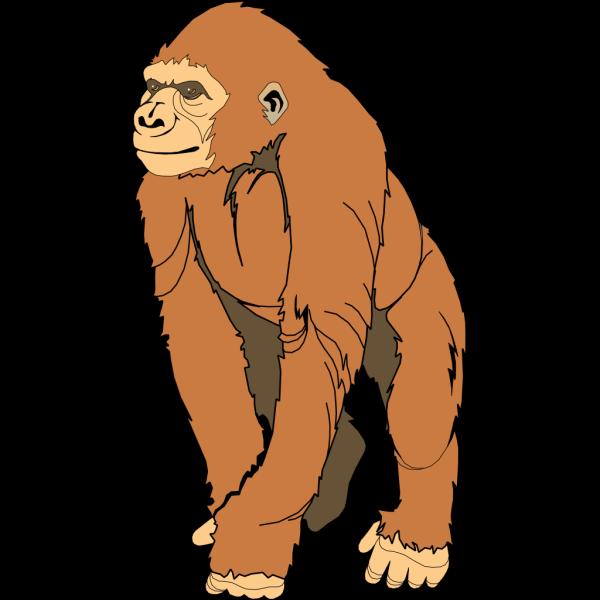 Clip Art Ape Clipart ape svg downloads animal download vector clip art online ape
