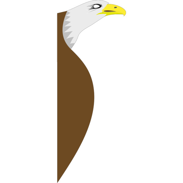 Cartoon Bald Eagle Flying PNG Clip art