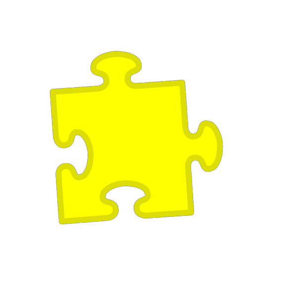 Jigsaw Blue PNG icon