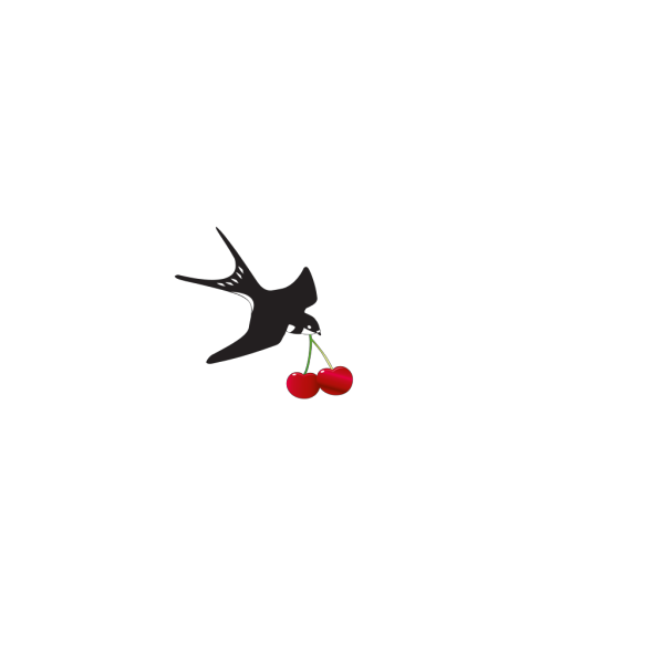 Cherry Bird Swallow PNG images