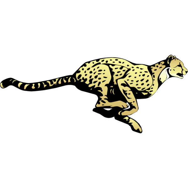 Running Cheetah PNG images