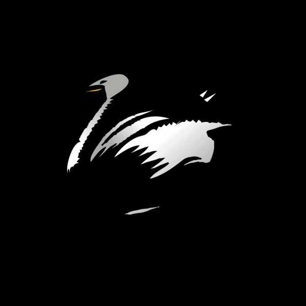 Resting Swan PNG Clip art