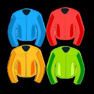 Race Jackets PNG Clip art