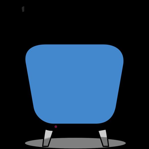 Retro Tv Blue PNG images