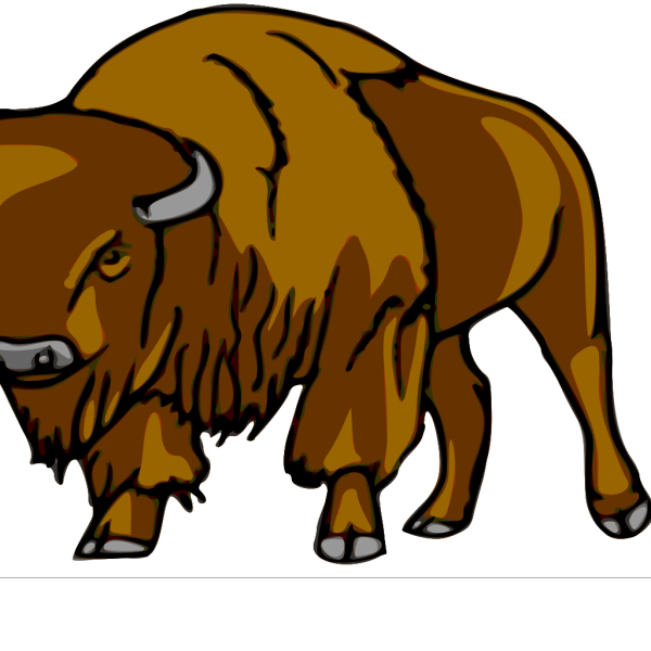 Bison Right PNG Clip art