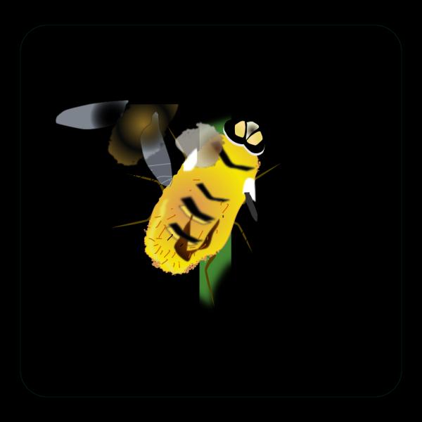 Digital Bee Art PNG Clip art