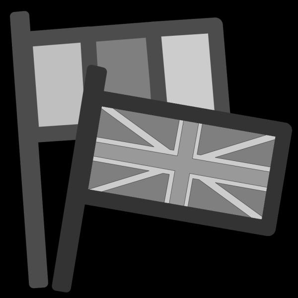 Motor Racing Flags PNG Clip art