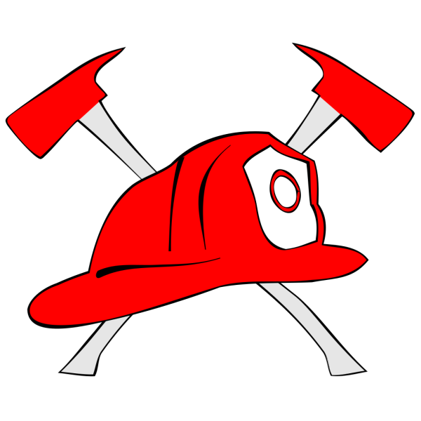 Firefighter Hard Hat PNG Clip art