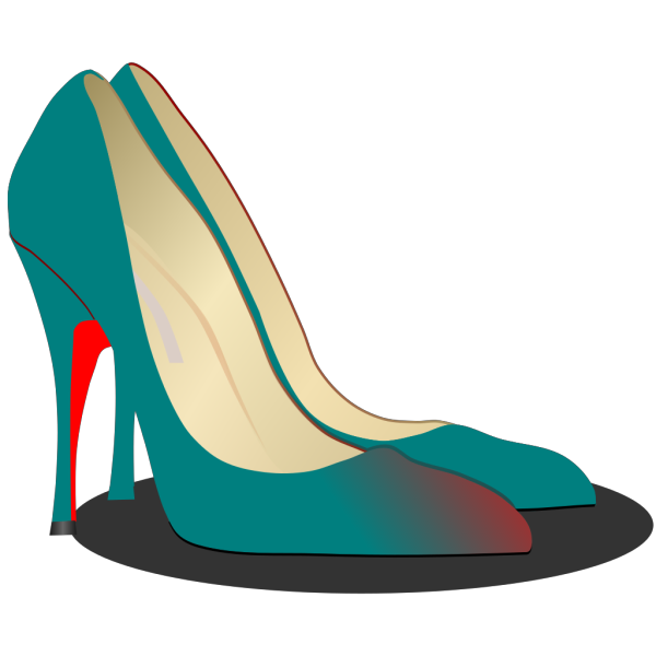 High Heels Red Shoe PNG images