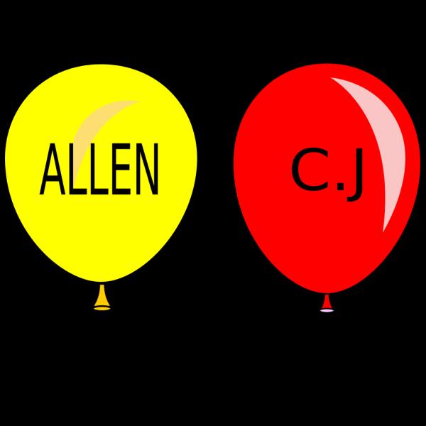 Balloons 2 PNG Clip art