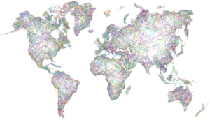 Abstract World Map PNG Transparent Picture PNG Clip art