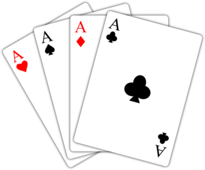 Ace Playing Card PNG PNG Clip art