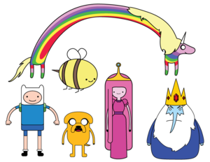 Adventure Time Transparent Background PNG Clip art