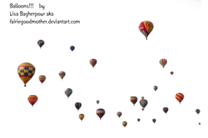 Air Balloon PNG Transparent Picture PNG Clip art