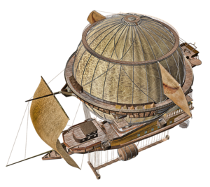 Airship PNG Picture PNG Clip art
