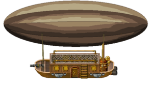 Airship PNG Transparent Picture PNG clipart