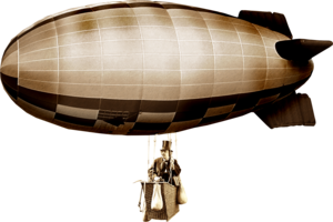Airship Transparent Background PNG Clip art