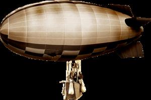 Airship Transparent Background PNG Clip art