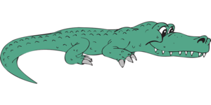 Alligator Transparent Background PNG Clip art