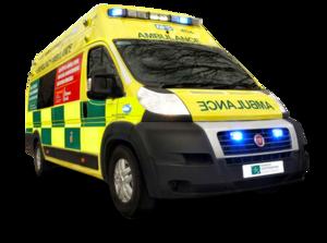 Ambulance Van Transparent Background PNG Clip art