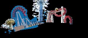 Amusement Park PNG Background Image PNG Clip art