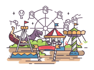 Amusement Park PNG Photo PNG Clip art