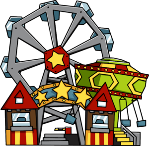 Amusement Park Transparent Background PNG Clip art