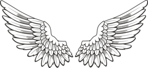 Angel Halo Wings PNG Free Download Clip art