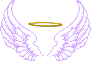 Angel Halo Wings PNG Transparent Image PNG Clip art