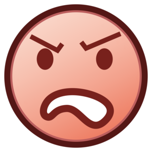 Angry Emoji PNG Free Download PNG Clip art
