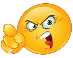 Angry Emoji PNG HD PNG Clip art
