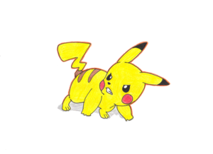 Angry Pikachu PNG Clipart PNG Clip art