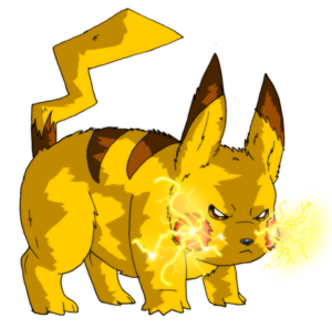 Angry Pikachu PNG Image PNG Clip art