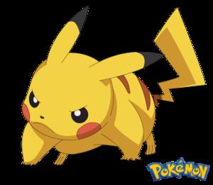 Angry Pikachu Transparent PNG PNG Clip art