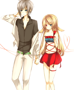 Anime Love Couple PNG Picture PNG Clip art