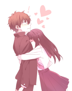 Anime Love Couple PNG Transparent PNG Clip art